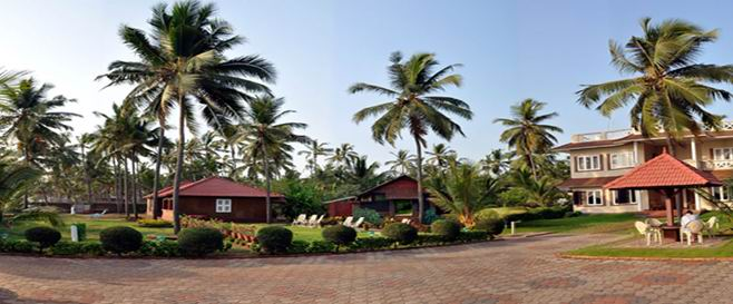 Asokam Ayurvedic Beach Resort Location
