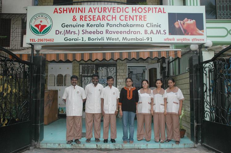 Ashwini Ayurvedic team