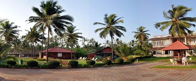Asokam Ayurvedic Beach Resort Location